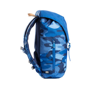 Frii School Backpack 30L - Camo Blue - Mr. Poco