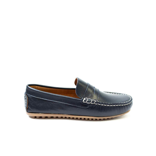 Petasil Connor Navy Leather - Mr. Poco