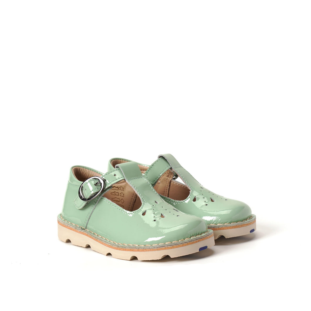 Petasil Andrea Patent Pale Green - Mr. Poco