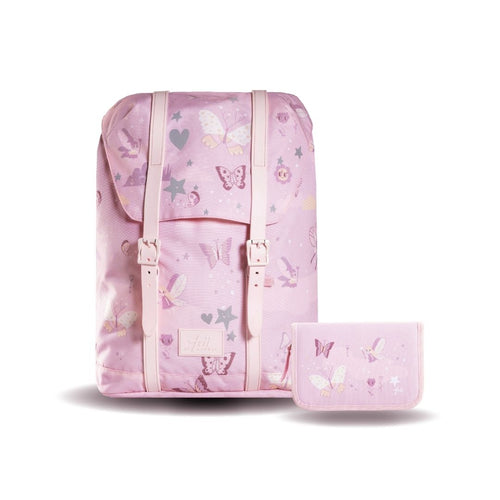 Frii School Backpack 22L Combo Set - Butterflies - Mr. Poco - Hong Kong