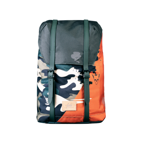 Frii School Backpack 28L - Camo Green - Mr. Poco