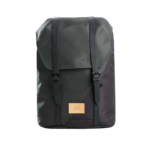 Frii School Backpack 30L - Green Black - Mr. Poco