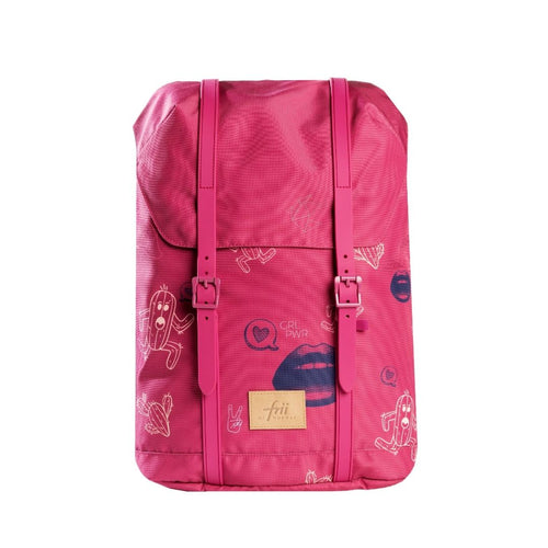 Frii School Backpack 30L - Pink - Mr. Poco - Hong Kong