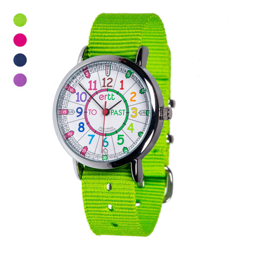 EasyRead Watches (Past & To) - Rainbow - Mr. Poco