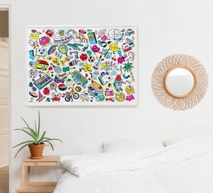 Baby Pop Art - Colouring Poster (5897627762853)