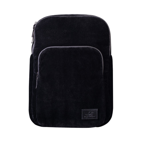 Frii Backpack - Black Velour - Mr. Poco