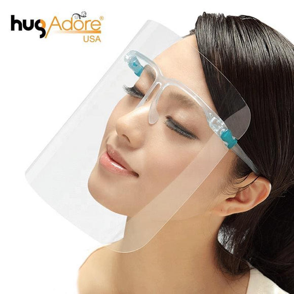 Face Shield Glasses - Face Shield gọng kiếng ( SET 2 cái)