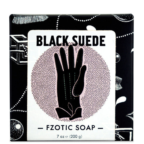 Black Suede Soap