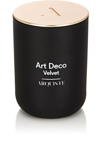 Art Deco Velvet Scented Candle