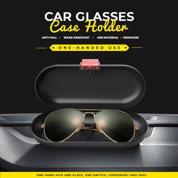 Car Glasses Case Holder