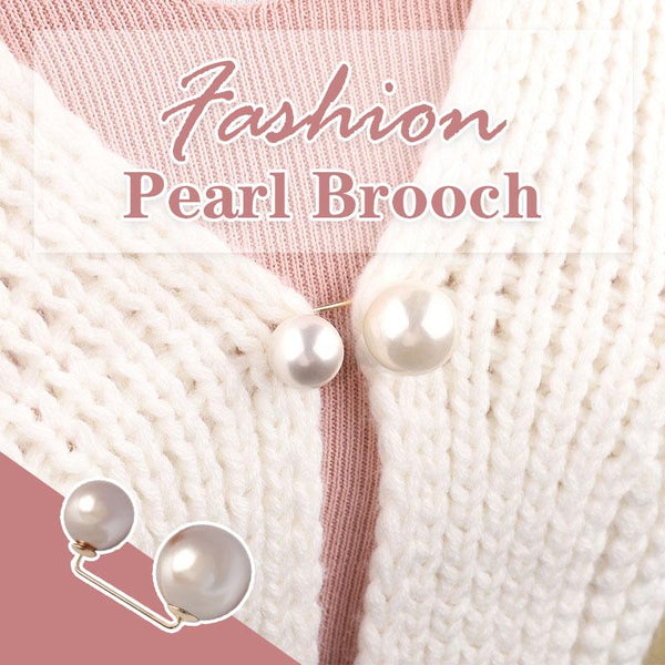 Fashion Pearl Brooch