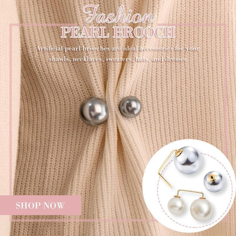 (50% OFF On Sale)Fashion Pearl Brooch