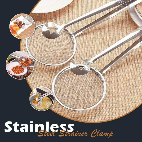 Stainless Steel Strainer Clamp (Buy More Save More)