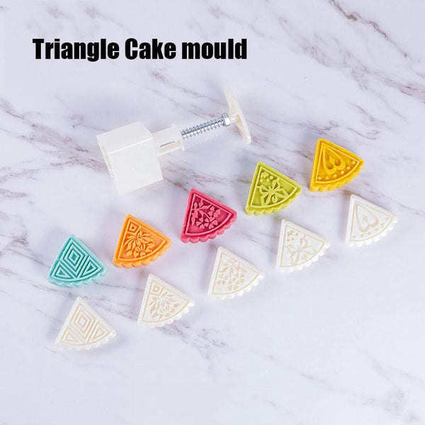 DIY Decoration Hand Press Cutter Cake Mold Set