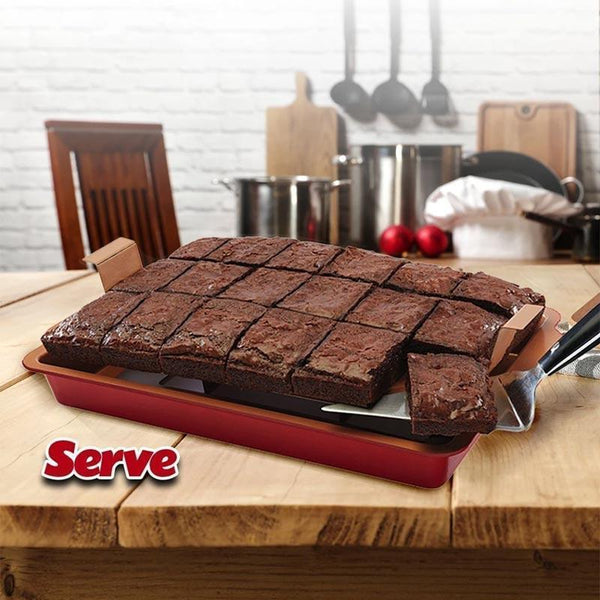 Non Stick Brownie Pans (New Arrival)