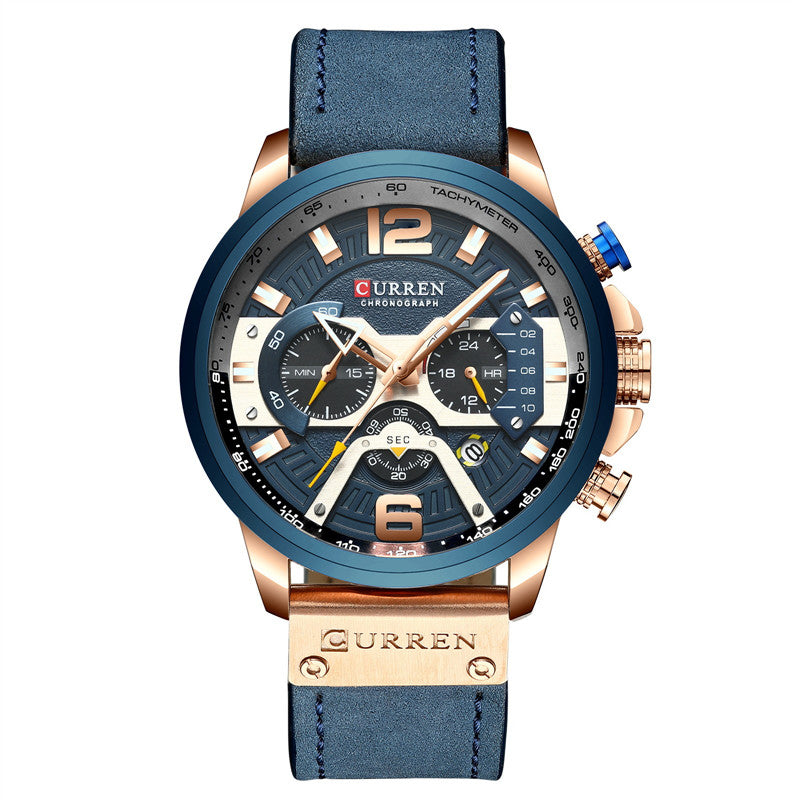 Multifunction Six Stitches Chronograph Watch