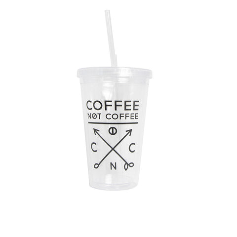 Iced Coffee/Smoothie Double Walled Tumbler