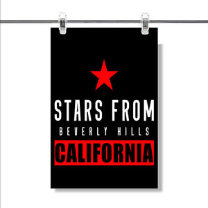 Beverly Hills California Poster Wall Decor