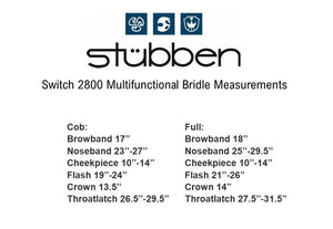 Switch 2800 Multifunctional Bridle