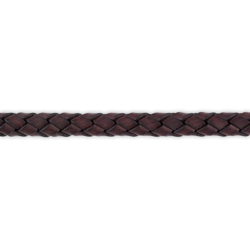MagicTack Leather Braided Fineline Inlay
