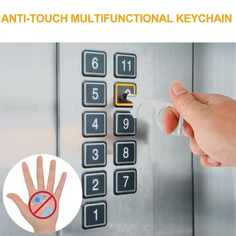 No Touch Key Chain, Door Opener