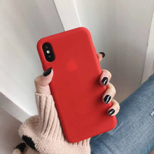 Load image into Gallery viewer, Bulk Solid Candy Color Shockproof Protective Phone Cases for All IPhone Models