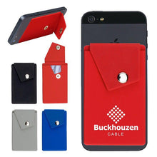 Load image into Gallery viewer, Promotional Custom Logo Adhesive Cell Phone Wallets With Botton