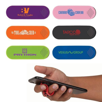 Promotional Custom Logo Taffy Finger Grip Phone Holder