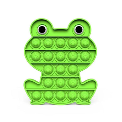 Wholesale Lovely Green Frog  Pop It Fidget Bubble Sensory Toy For Kids Adults