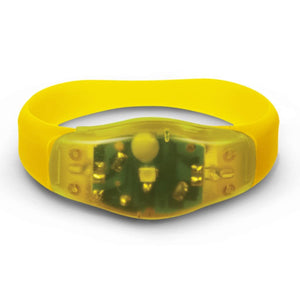 Custom Logo Promotional Safety Light Wristband