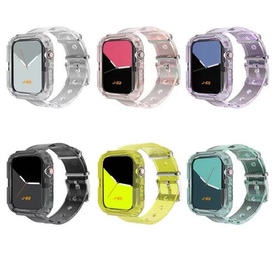 Bulk Newest Sport Strap Apple Watch Premium Transparent Watchbands