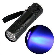 Load image into Gallery viewer, Promotional Custom Logo Push-Button Aluminum LED Flashlight