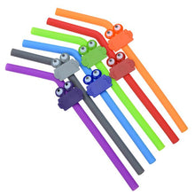 Load image into Gallery viewer, Promotional Custom Logo Clipster Buddy Straw Clip