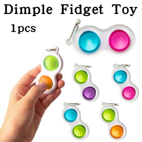 Simple Dimple Fidget Toy Set Stress Relief Toys Autism Anxiety Relief Stress Hand Toys