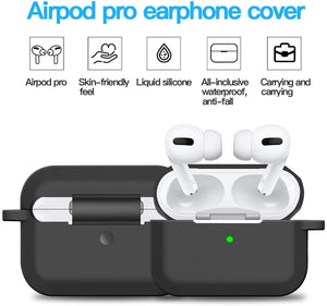 Bulk DIY Keychain Airpod Pro Covers for Customization, Screen Printing - 100 Pack