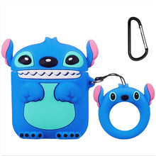 Load image into Gallery viewer, Airpod 1/2 Case Cover For Cute Funny Cartoon Character