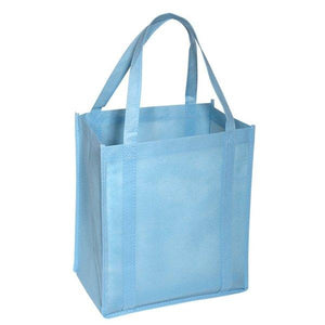 "Promotional Custom Logo Atlas Non Woven Grocery Tote Bag - 12"" X 13"""