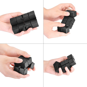 Infinity Cube Fidget Hand Toy for ADD, ADHD, Anxiety, and Autism Adult and Children