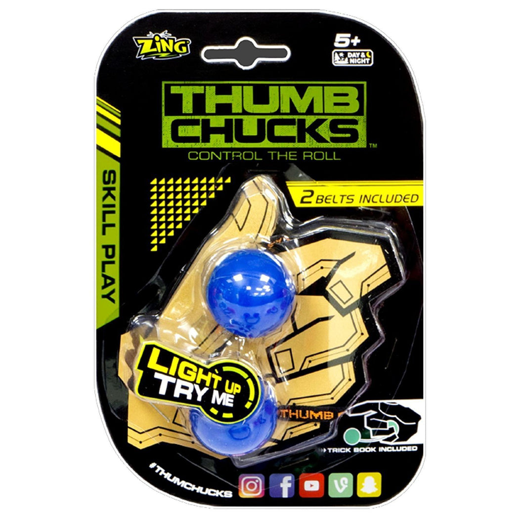 Glow Thumb Chucks - Assorted Colors