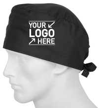 Load image into Gallery viewer, Custom Logo Scrub Cap, Promotional Printed Scrub Cap - One Size Fits All