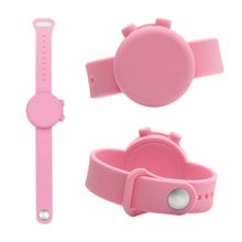 Load image into Gallery viewer, Custom Logo Adjustable Hand Sanitizer Dispenser Silicone Wristbands