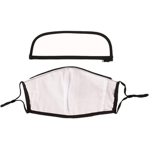 Bulk Filtered Face Masks And Detachable Eye Shield, PM2.5 Respirator Mouth Muffle Protective Reusable Mask
