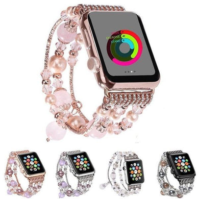 Wholesale Agate Beads Strap Bracelet Apple Watch 1, 2, 3, 4, 5 & Sport