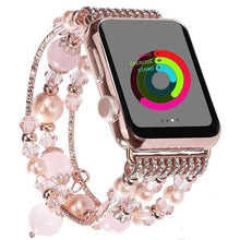Load image into Gallery viewer, Wholesale Agate Beads Strap Bracelet Apple Watch 1, 2, 3, 4, 5 & Sport