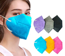 Load image into Gallery viewer, Custom Logo Colorful KN95 Face Mask For Ultimate Protection Promotional KN95 Face Mask