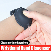 Load image into Gallery viewer, Custom Logo Squeezy Wristband Hand Sanitiser Dispenser