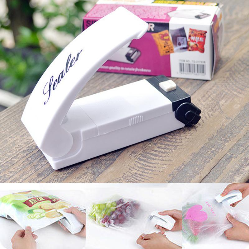 Custom Logo Promotional Mini Portable Handy Plastic Bag Sealer Sealing Machine