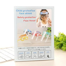 Load image into Gallery viewer, Funny Kids Face Shield Dust-Proof Anti-Splash Reusable Face Mask
