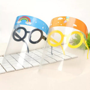 Funny Kids Face Shield Dust-Proof Anti-Splash Reusable Face Mask