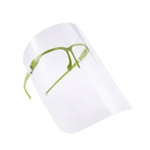 Bulk Glass Face Shields Extra Protection Reusable Face Cover